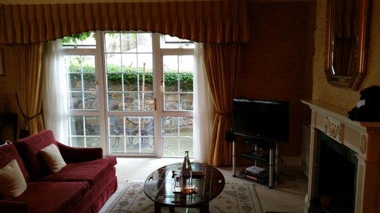 Longueville Manor : Twin room ..patio to garden