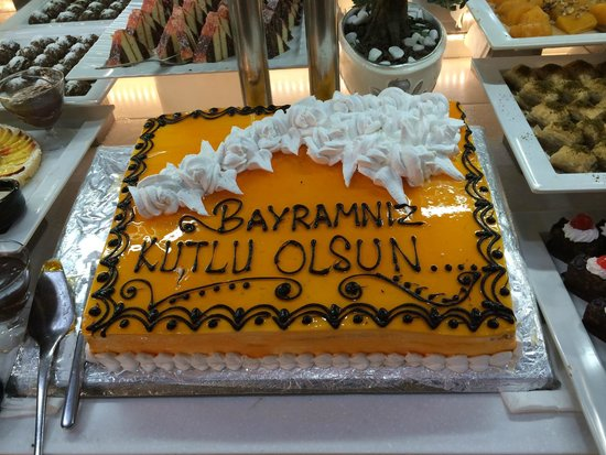 Ramada Plaza Antalya: The end of the Ramadan cake