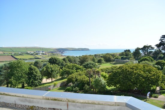 Thurlestone Hotel: The view from our bedroom balcony