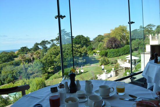 Thurlestone Hotel: Overlooking the Garden and Ocean