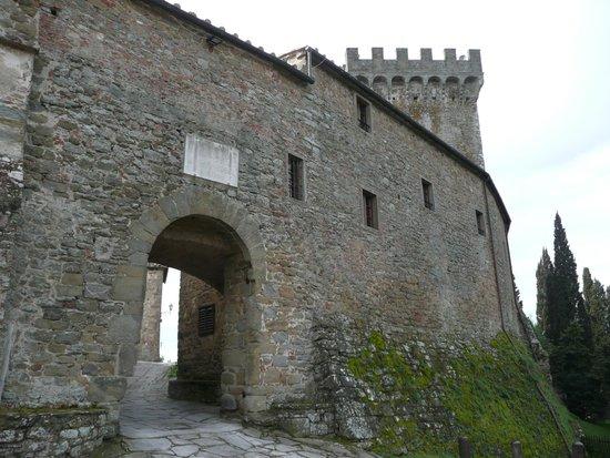 Il Castello di Gargonza : Entrée de l'Hôtel