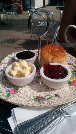 forest edge cafe and teahouse: mini cream tea