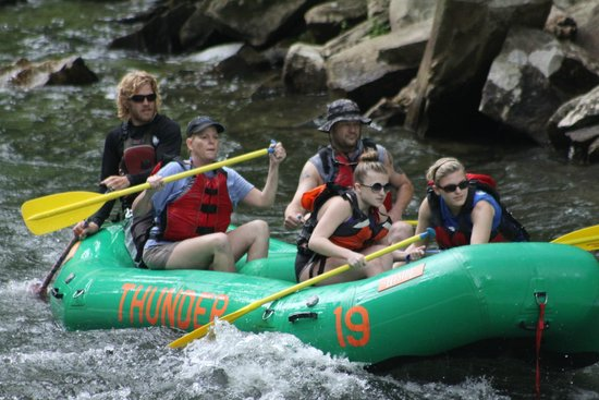 Rolling Thunder River Company: On the Nantahala with Rolling Thunder