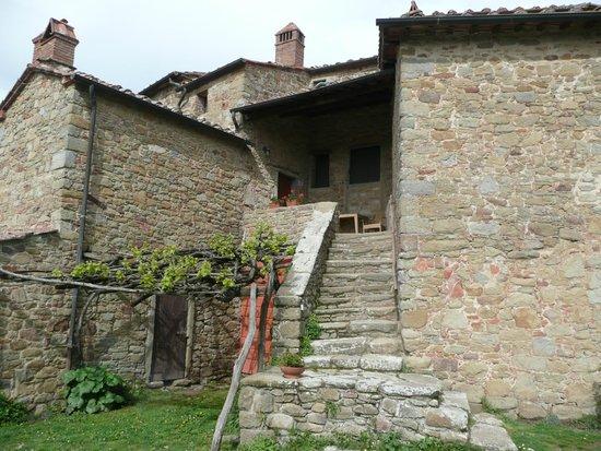 Il Castello di Gargonza : Entrée d'une des chambres