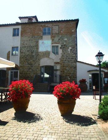Castello di Fulignano: Recepção do hotel.