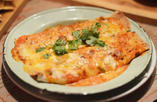 Mexican on Long: Beef Enchilada