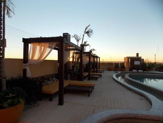 Grand Crucero Iguazú Hotel: Atardecer en la terraza
