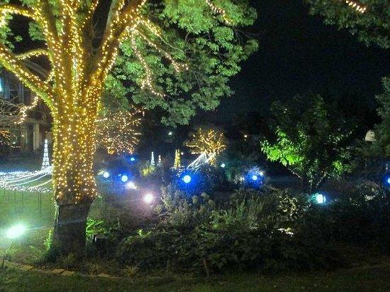 Suzuka Circuit Hotel: Outside the restaurant at night