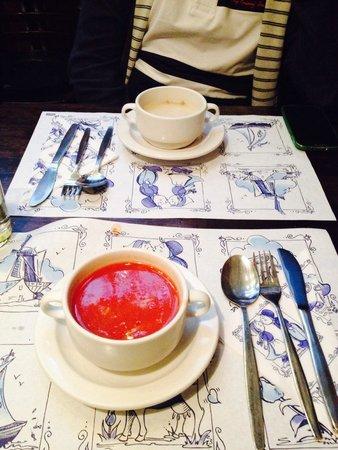 Petit-Restaurant de Rozenboom : Soup