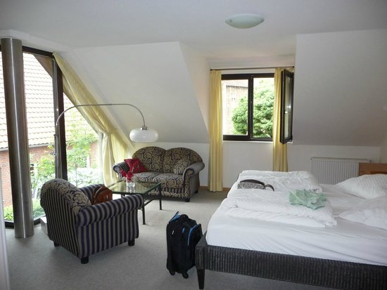 Hotel am Sterndeuterturm: Comfortable, airy, spacious, what more could you ask for?