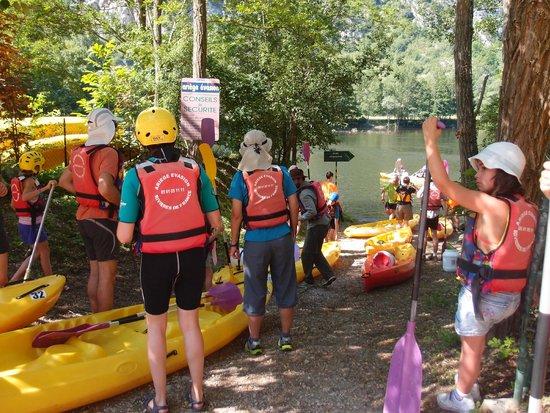 Ariege Evasion: Départ pour la balade en canoé
