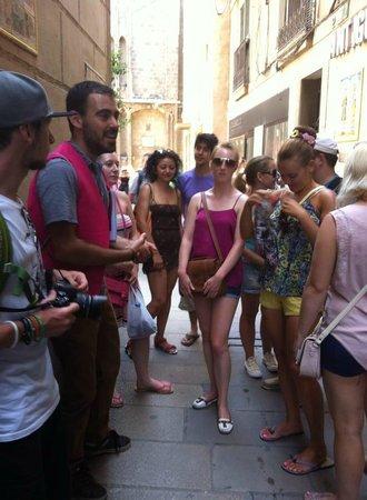 Discover Walks Barcelona: Visiting las Ramblas, el Barri Gòtic & el Born with Marçal: the best tour guide ever!