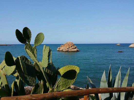Hotel Le Calette: paesaggio dalla zona colazione