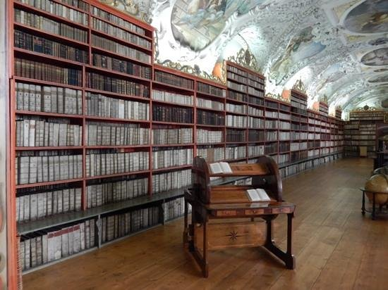 Strahov Monastery : impressive number of books