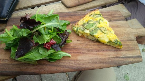 Kerr Street Cafe: Spinach Quiche