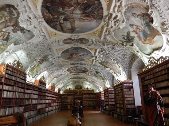 Strahov Monastery : ceiling of one of the rooms