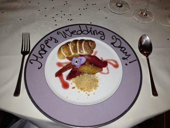 The Grand Hotel Eastbourne: Amazing desert at The Mirabelle Restaurant