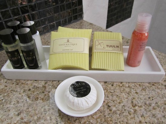 Savoy Boutique Hotel : Lovely soap!