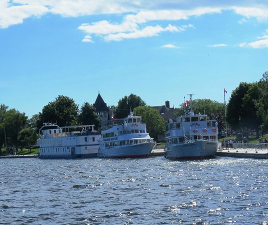 The Gananoque Inn and Spa : View from our room, photo by Mike Keenan