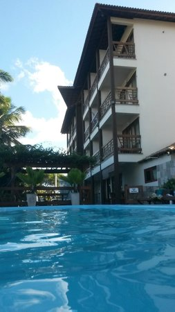 Pousada Iande: vista da piscina