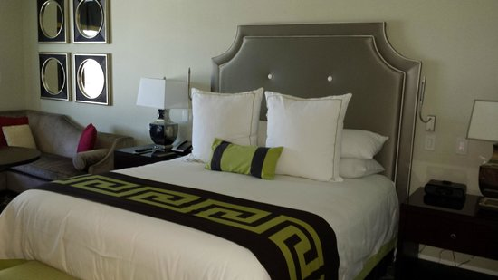 Caesars Palace: comfortable beddings