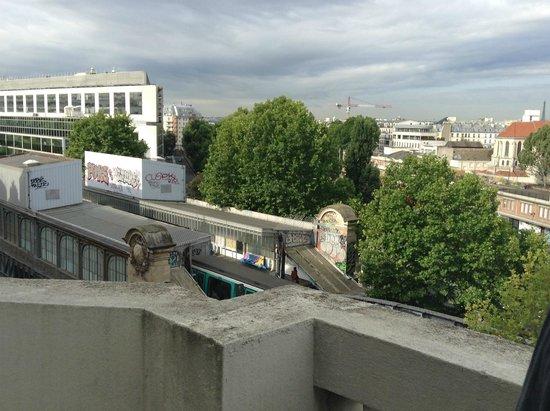 Hotel De La Comete: Balcony view
