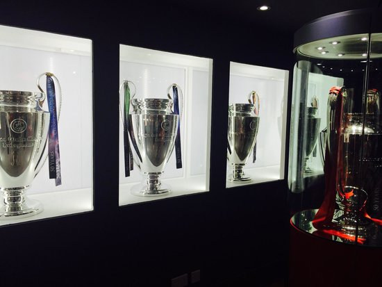 LFC Museum and Tour Centre: The 5 European Cups