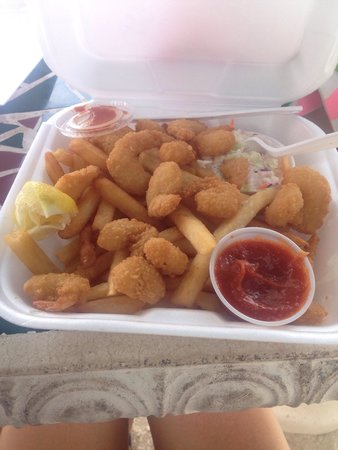 Doc's Beach House Restaurant : Popcorn shrimp
