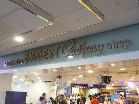 Cadbury World: BIG Chocolate Chop