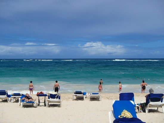 Occidental Caribe: beach area
