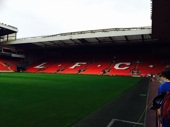 LFC Museum and Tour Centre: The KOP