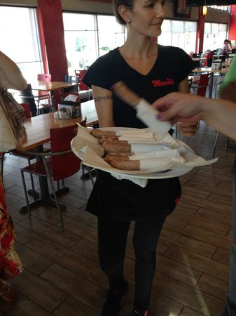 Miami Culinary Tours - Private Tours : I have never tasted a churro this good - filled with dulce de leche