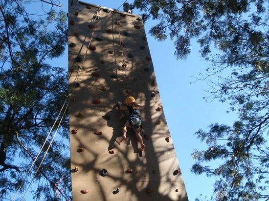Santa Clara Eco Resort : escalada