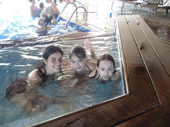Santa Clara Eco Resort : piscina aquecida com Tia Cotonete