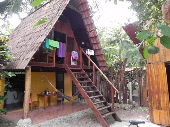 The Howler Monkey Hotel: mon bungalow