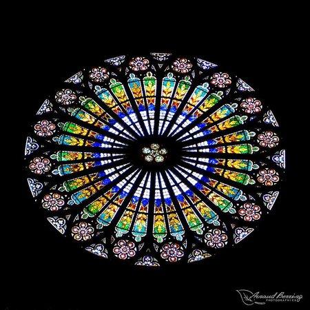 Cathédrale Notre-Dame de Strasbourg : rosace