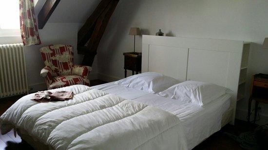Le Clos du Saule: Pretty room in the attic
