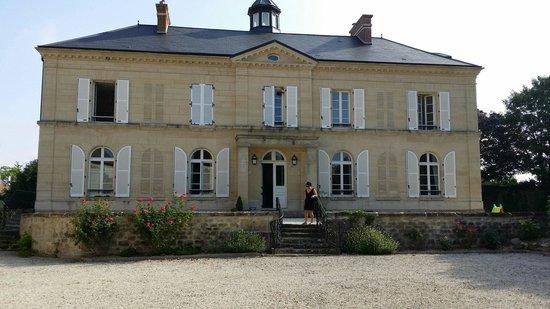 Le Clos du Saule: The grand house
