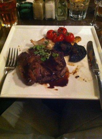The Oarsman : Steak dinner