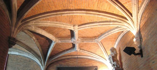 Basilica of the Holy Blood: Grand ceiling