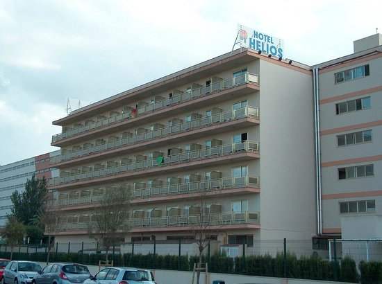 Hotel Helios Mallorca: et hotel aan de achterzijde