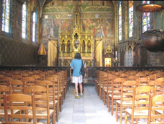 Basilica of the Holy Blood: Wonderful nave