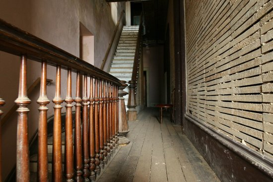 Stairway Picture Of The Washoe Club Haunted Museum