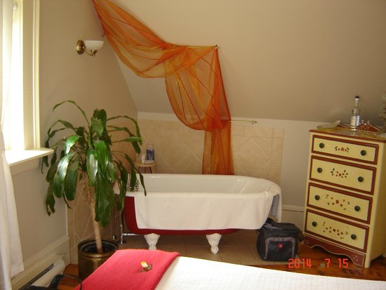 Auberge, La belle Victorienne : Bain ,douche