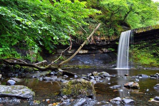 Waterfalls Centre: Sgwd gwladus 5/8/2014