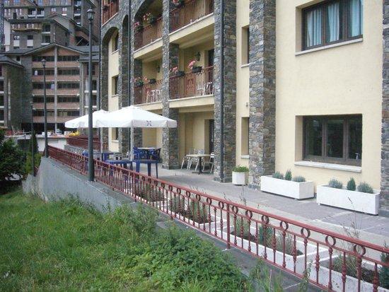Aparthotel Sant Andreu: Terraza