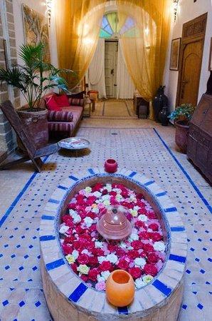 Riad Al Zahia : Hall, lobby