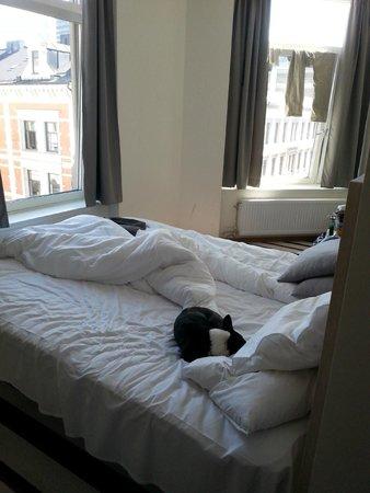 Citybox Oslo: Corner room was nice. No TV. WTF!!??