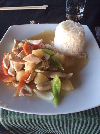 Stella Palace Resort & Spa : Food at the Asian a la carte restaurant!