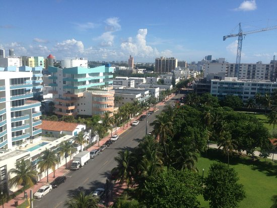 Marriott Stanton South Beach: Even the city view is great!